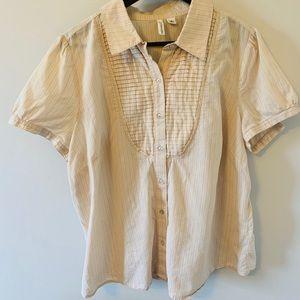 100 % Cotton / Short sleeve / Button up